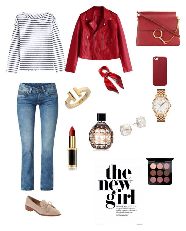 """Para embarazadas siempre lindas !!!!"" by carolinaramirez-1 on Polyvore featuring moda, rag & bone, Pepe Jeans London, Banana Republic, Chloé, Apple, Mulberry, Tissot, Tiffany & Co. y Kate Spade"