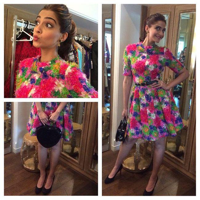 Sonam Kapoor's Khoobsurat fashion diaries.