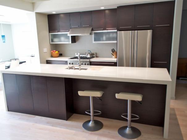 Photo of Black Contemporary Kitchen project  by Sven Lavine Architecture
