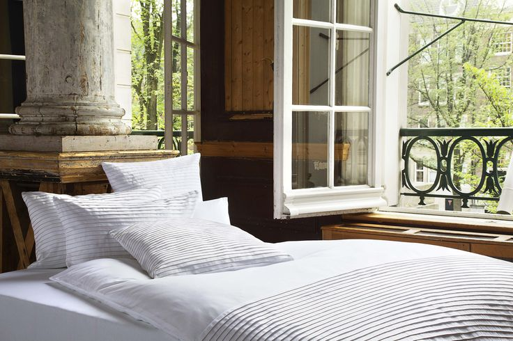 Christian Fischbacher Luxury Nights Collection Noble Pleats