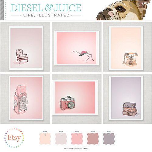 Diesel & Juice on Etsy by Torie Jayne