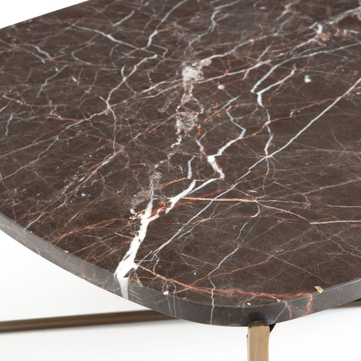 Table basse organique marbre Arambol