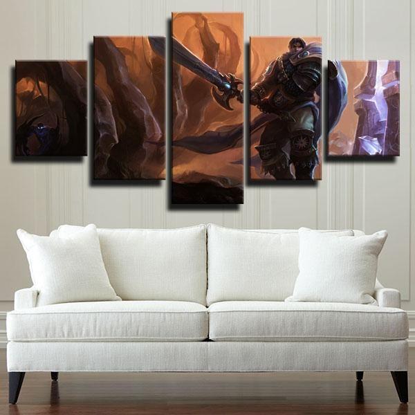 Dota 2 Medusa In 2020 Canvas Art Wall Decor Wall Art Canvas Prints Canvas Wall Art