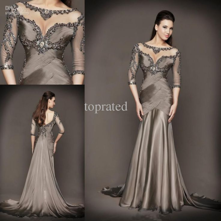 Tarik Ediz - Buy 2014 New Collection Mother of the Bride Dresses Formal Gown