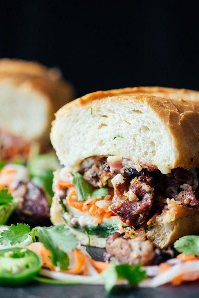 Banh Mi Sandwich (Vietnamese Sandwich)