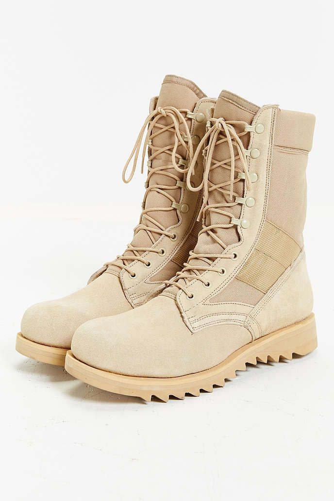 Rothco Suede Ripple Sole Jungle Boot - Urban Outfitters