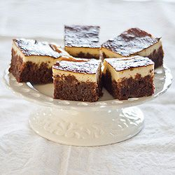 Chocolate Cheesecake Brownies - gluten-free & low FODMAP - Strands of ...