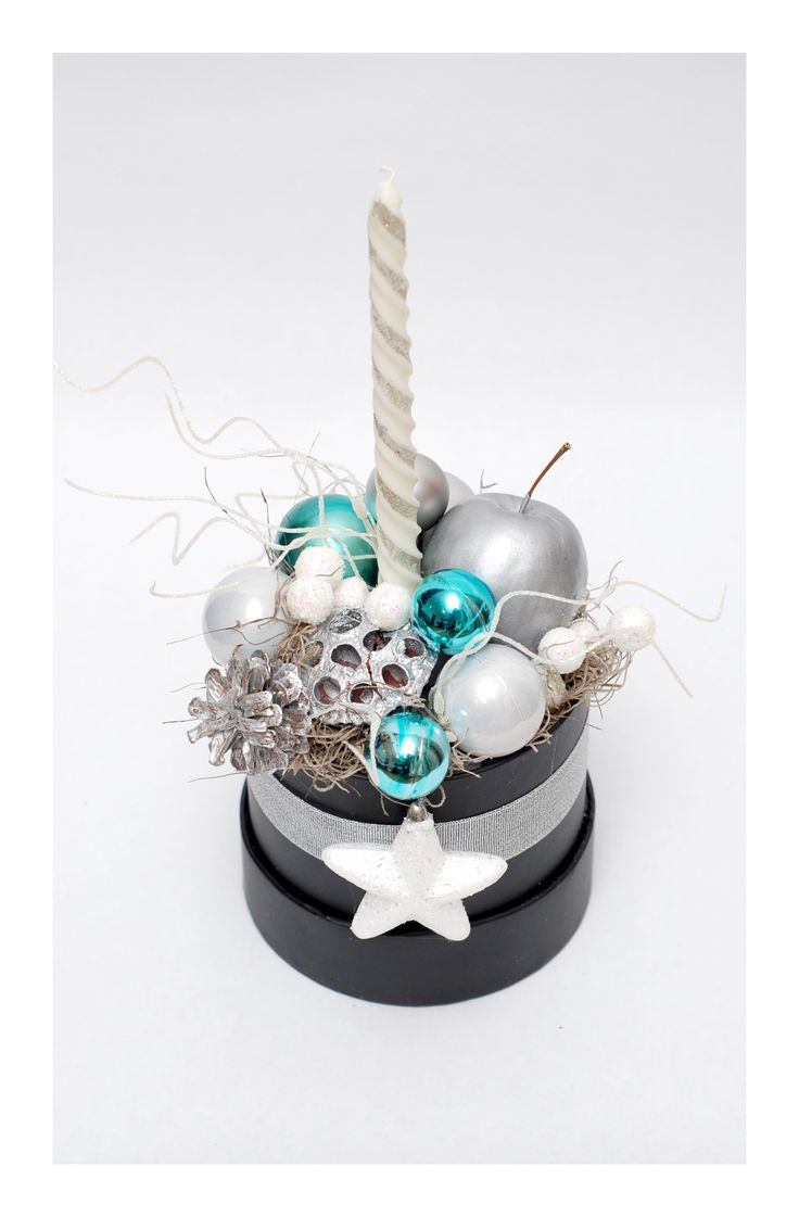 The Christmas box - silver