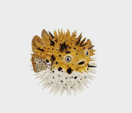 PUFFER-FISH-Replica-250429-Free-Ship-in-USA-w-25-SAFARI-Products-Pufferfish