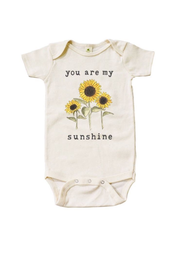 cc7aceea9 'You Are My Sunshine' Organic Onesie Newborn Baby Coming Home Outfit |  MiniAndMeep on Etsy #newborn #baby #cominghomeoutfit. '