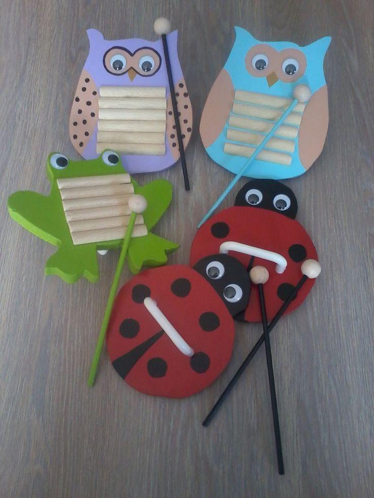 Instrument Craft on Best Owls Kindergarten Ideas On Pinterest Owl Activities Nocturnal