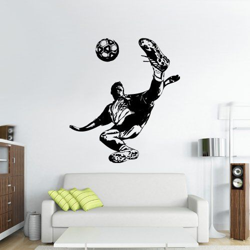 Wall Vinyl Sticker Decals Decor Art Bedroom Design Dorm Kids Nursery Keeper Football Sketch Player Soccer Sport (Z3066) StickersForLife http://www.amazon.com/dp/B00NEGP890/ref=cm_sw_r_pi_dp_QP7fvb0PC7BY7