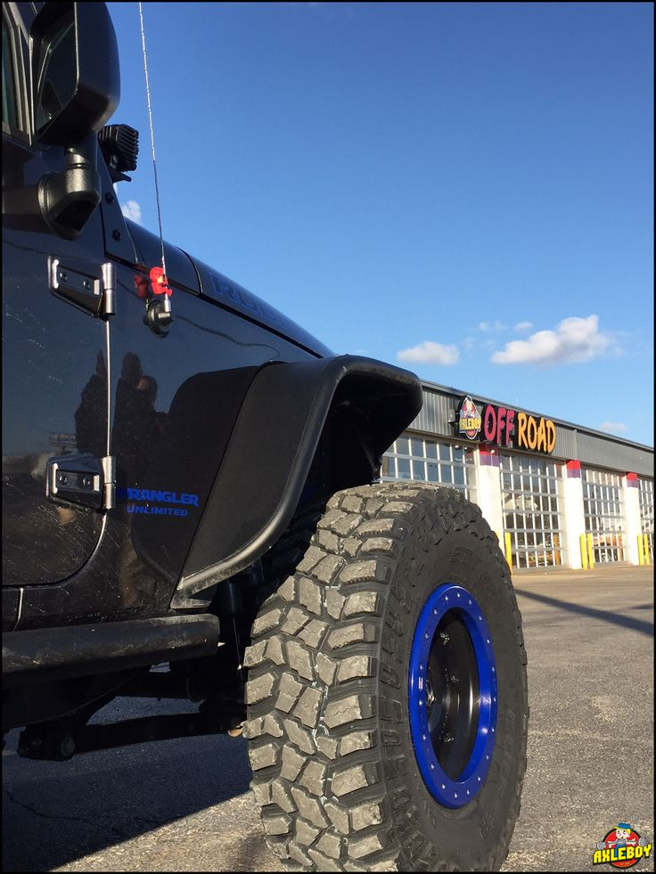 "Looking forward to getting dirty this weekend!! 2016 Rubicon stepping up to 37"" Cooper STT Pro tires, 17"" BMF wheels with KY blue accents and 4.88 Yukon gears. ____________________________________________ #Axleboy #offroad #jeep #Wrangler #rubicon #ky #blue #BMF #Yukon #Cooper #jeepshop #stl #missouri #ofallon #jeeplife #jeepbeef #built #4x4 #4wd #jeepthing #olllllllo"
