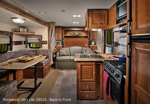 Rockwood Travel Trailers & Fifth Wheels by Forest River.