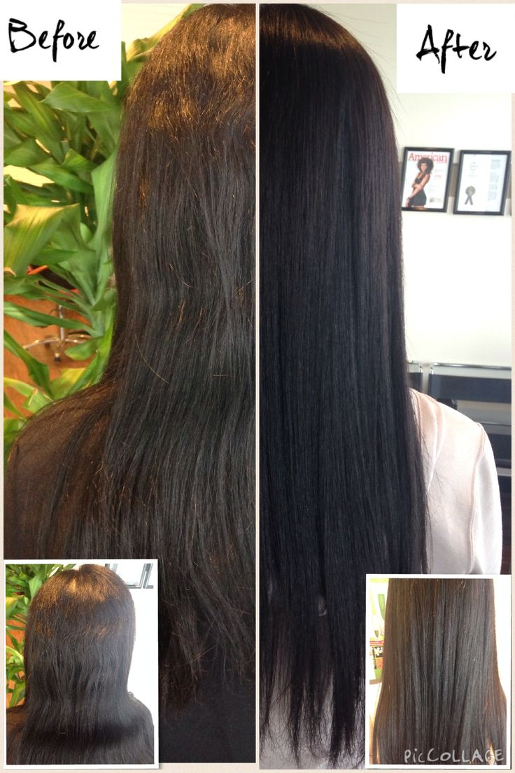 YUKO's Hair Straightening Touch-up Before And After!  #yuko #yukohairstraightening #Japanesestraightening #hair