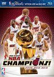 NBA: 2013 NBA Champions - Highlights [2 Discs] [DVD] [English] [2013]