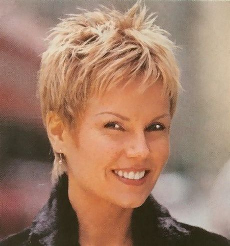 Short Hairstyles For Women Over 50 With Round Faces Hair Styles In