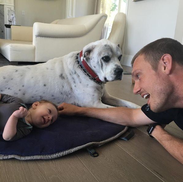 "Nick Carter & Odin ""Enjoying Some Family Time"" - http://site.celebritybabyscoop.com/cbs/2016/07/06/carter-enjoying-family #BackstreetBoys, #BSB, #NickCarter, #OdinCarter"