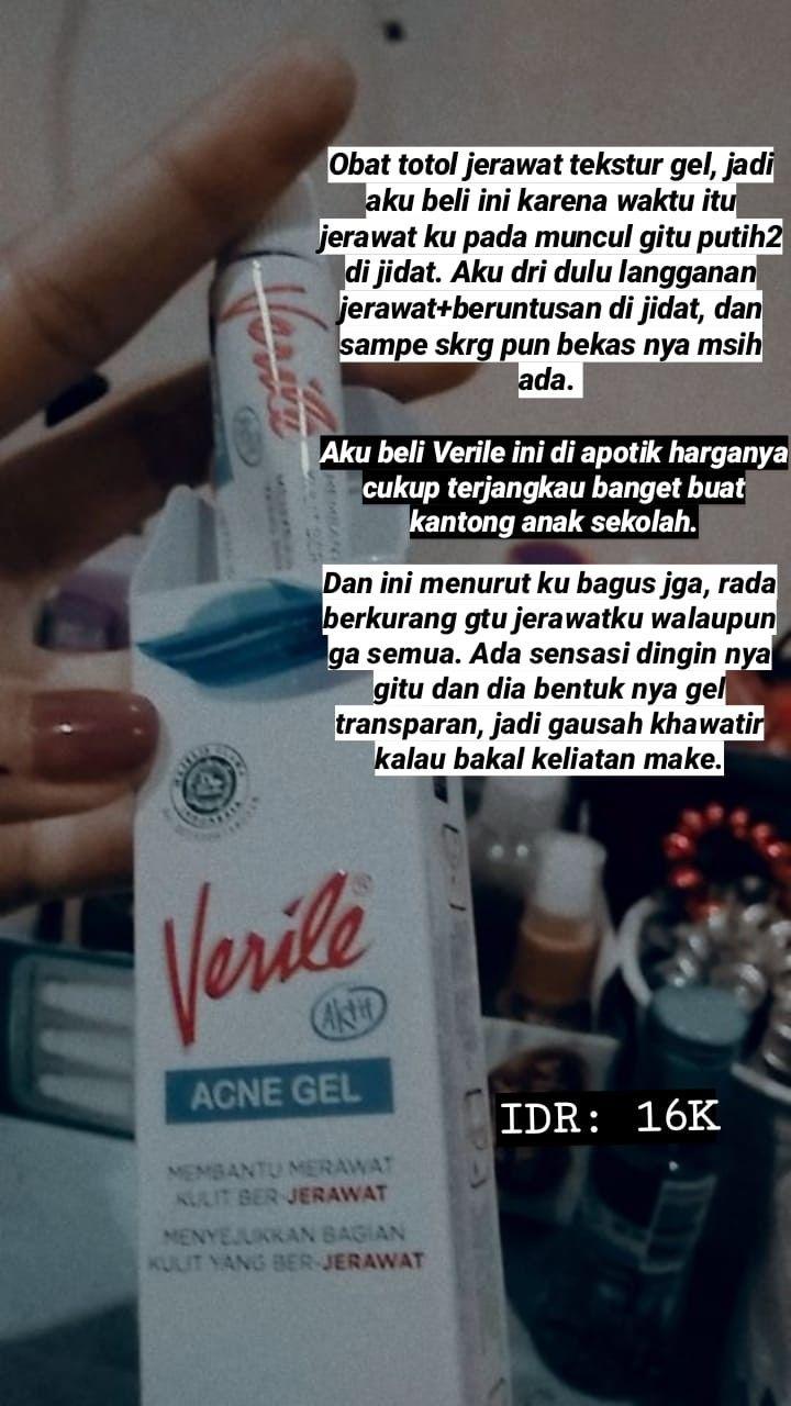 Cream Verile Untuk Jerawat