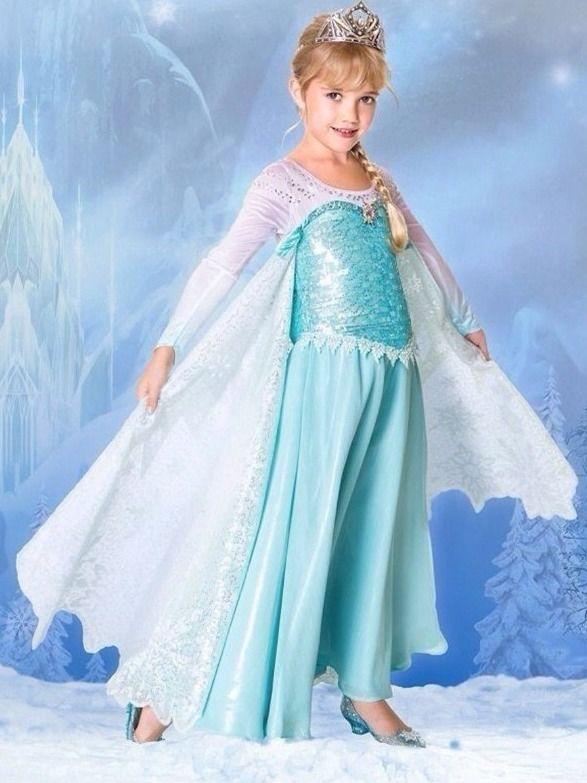 10 Best images about Elsa Dress on Pinterest - Disney- Frozen snow ...
