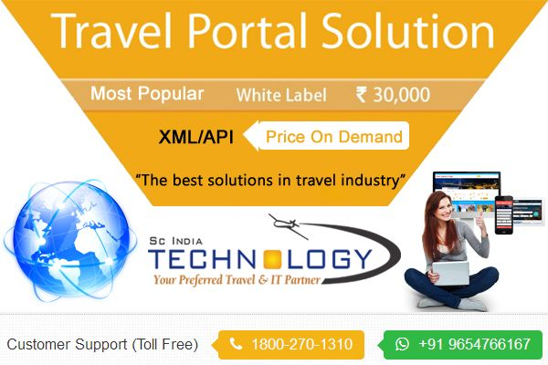 A Complete B2B & B2C Travel Website Solution For Agents. more details visit : http://www.travelportalsolution.com