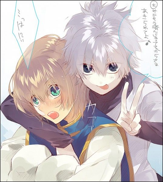 Hunter x Hunter/#1579897 - Zerochan |Kurapika And Killua