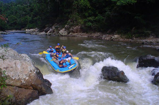 2-Day Jungle White Water Rafting and Embera Village Tour from Panama City Leave behind the exhausting noise of cities and escape to the stunning natural beauty of the Chagres National Park. This unforgettable adventure includes hiking, rafting, camping and a day trip to the indigenous village of the Embera in a small group.The Chagres River is virtually unseen in the trek trough the Chagres National Park due to the lack of access roads and protection against settlers. Th...