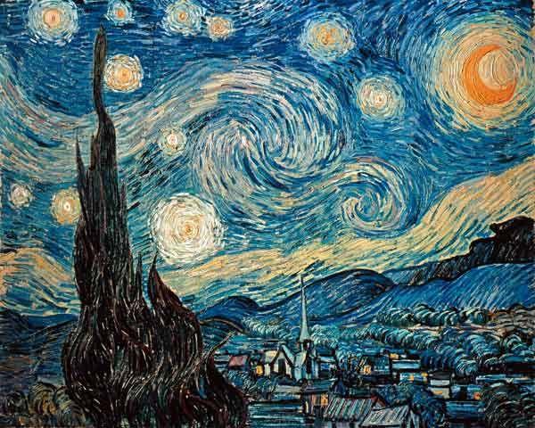 Vincent van Gogh Sterrennacht, Starry night
