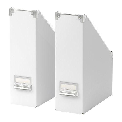 KASSETT Magazine file - white - IKEA
