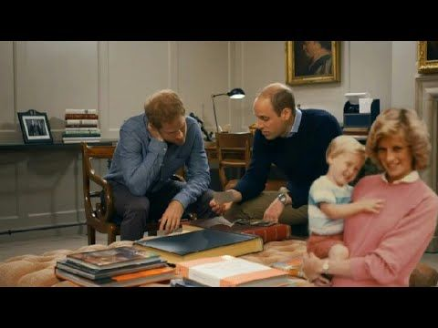 Original published July 08, 2017 ITN Video footage]..... FULL Promo Video Prince William and Prince Harry will open up about their mother together for the first time in a documentary commemorating the 20th anniversary of Princess Diana's death. A promo video for 'Diana, Our Mother: Her Life and Legacy' was released yesterday, featuring the Princes looking through a family album of photographs, that was recently found by Prince Harry, unreleased photos. Video.