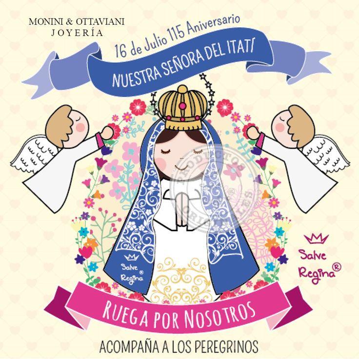 Hoy es el aniversario de la Coronación Pontificia de Nuestra Señora de Itatí y se celebra con una gran peregrinación en Corrientes. Te pedimos Virgencita que acompañes a los peregrinos. Compartimos un Blog donde podrán encontrar más información sobre esta hermosa fiesta dedicada a la Virgen en Corrientes .