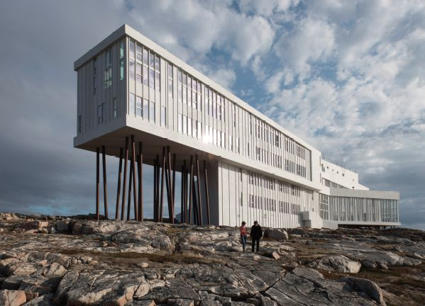 Fogo Island Inn located in the Northeast Coast of Newfoundland is exceptional in every sense! #hotel #northeast #Mixte14 #MixteMagazine