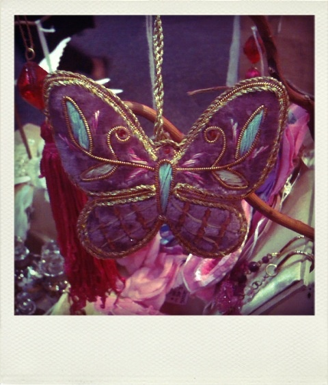 Butterfly Christmas decoration
