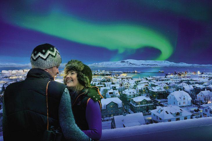 Günstige Kurzreise nach Reykjavik in Island mit Flug & Hotel ab Frankfurt…