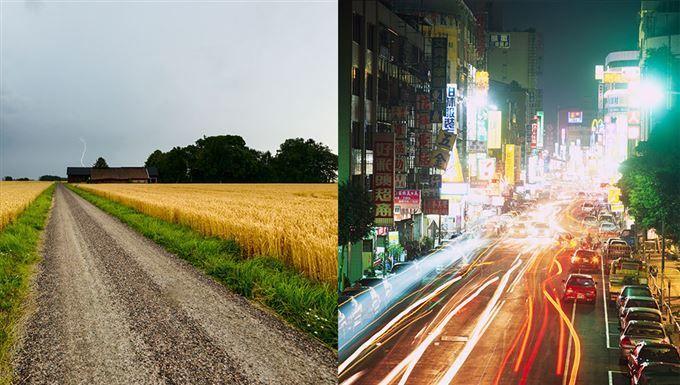 Mår vi verkligen bättre på landet än i storstan?