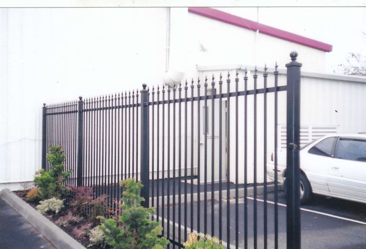 48 best Ornamental Iron Fence images on Pinterest | Iron, Steel and ...