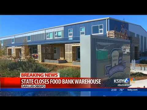 THIS SPECIAL EDITION OF KSBY NEWS I'M DAN SHADWELL  AND I'M CARINA CORRAL WE'RE TRACKING SOME BREAKING NEWS THE STATE HAS TOLD THE FOOD BANK COALITION OF SAN LUIS OBISPO COUNTY THAT NO FOOD CAN ENTER OR LEAVE ITS WAREHOUSE SCOTT DANIELS FOUND OUT ABOUT THIS SHUTDOWN THIS...