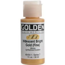 Texture#5: Do you want this kind of gold? (Golden Fluid Acrylic Paint 1 Ounce-Iridescent Bright Gold)
