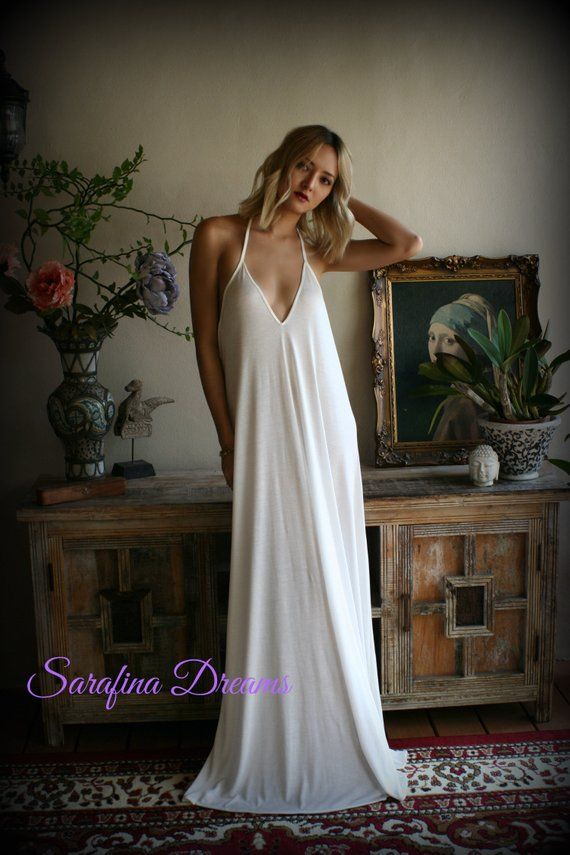 7ca57c9164 Bridal Silk Knit Backless Nightgown Wedding Lingerie Bridal Lingerie ...
