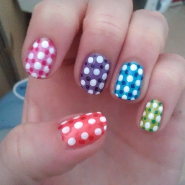 Polkadots and a lot of colours!