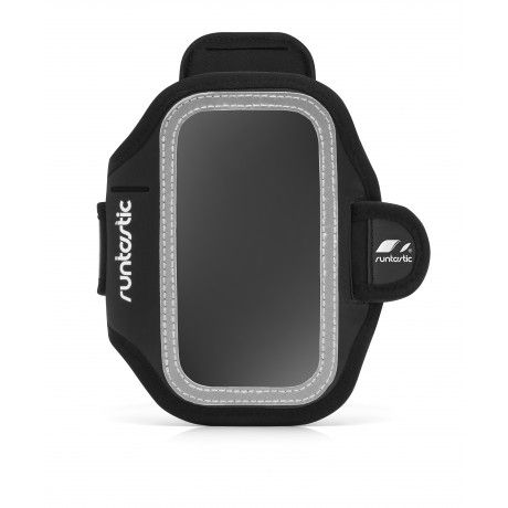 With the Runtastic Sports Armband, it is easy and comfortable to carry your smartphone with you when you are engaging in fitness activities. Wear it on your upper arm and you'll enjoy unrestricted movement and your hands will be free throughout your activity. The Runtastic Sports Armband includes a transparent display screen, a small pocket for personal items, reflectors for safety, a neoprene cover for the audio receiver, and an adjustable hook-and-loop fastener to personalize the size and…