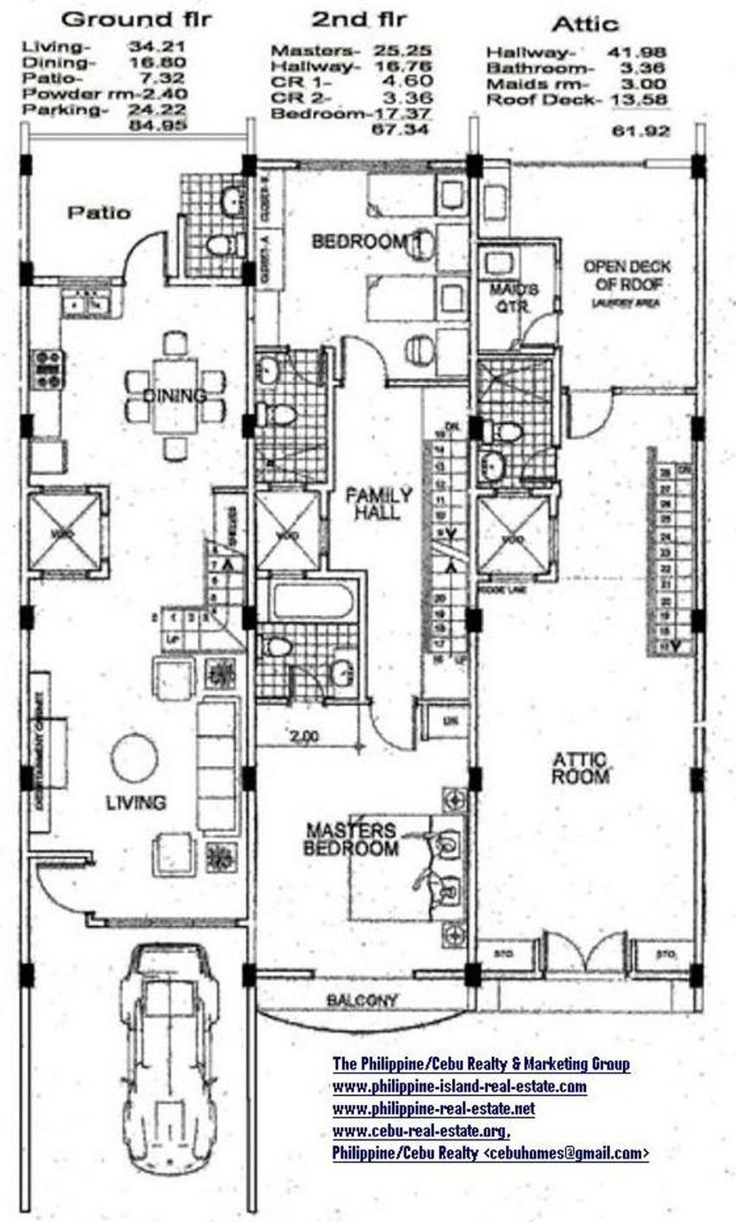 3 Bedroom Townhouse 854 1419 Townhouse