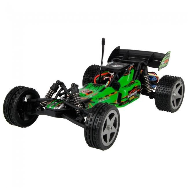 WL202 2.4G 1:12 Brushless RC Racing Car (Green)