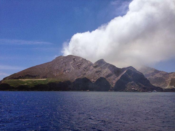 White Island Volcano - New Zealand