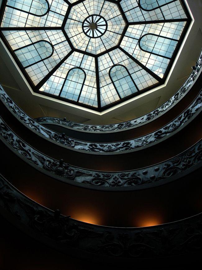 #Bramante Staircase, #Vatican #Rome