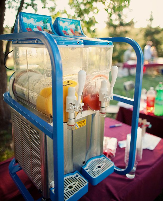 Slushy Bar. Who wouldn't want this in you room?