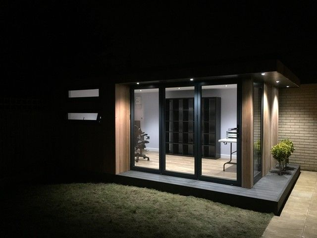 Stylish and contemporary garden office packed with personal features