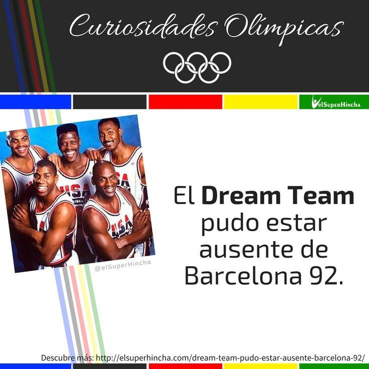 #CuriosidadesOlímpicas #JuegosOlímpicos #Río2016 #Baloncesto #Basket #DreamTeam #JuegosOlímpicosRío2016 #SabíasQue #CuriosidadesDelDeporte #Deporte #Basketball