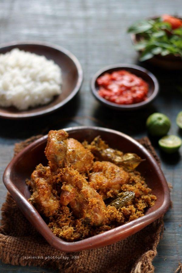 Ayam Goreng Laos Jajane Vivi Ayam Goreng Resep Ayam Fotografi Makanan