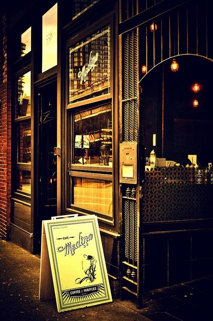 Café Medina ~ Vancouver, BC, via Flickr.